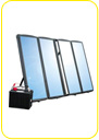 Emergency solar kits